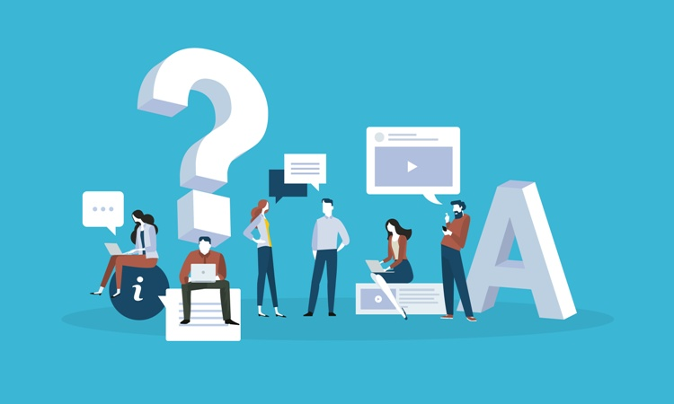 Klausimų - atsakymų erdvė